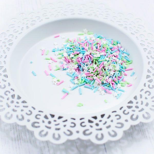 Sugar & Spice, Pretty Pink Posh Clay Sprinkles -