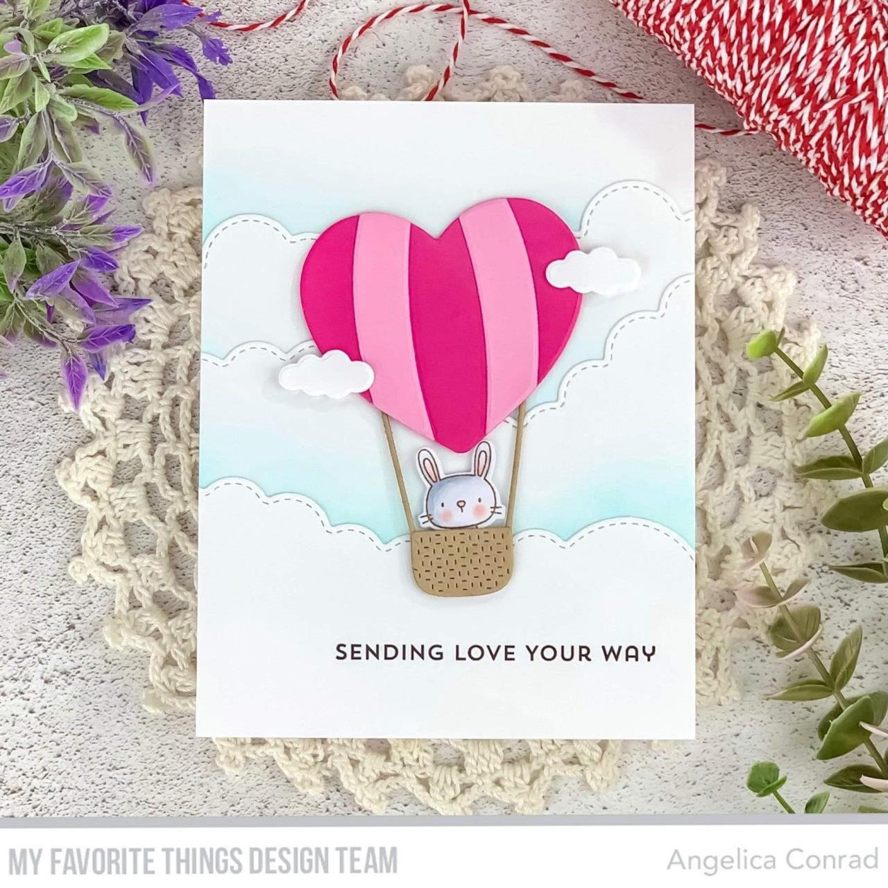 Bitty Hugs & Kisses, My Favorite Things Clear Stamps -
