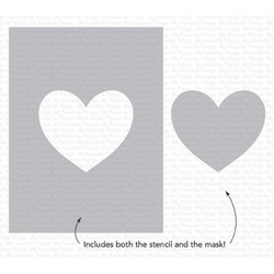 Heart Extraordinaire, My Favorite Things Stencils -
