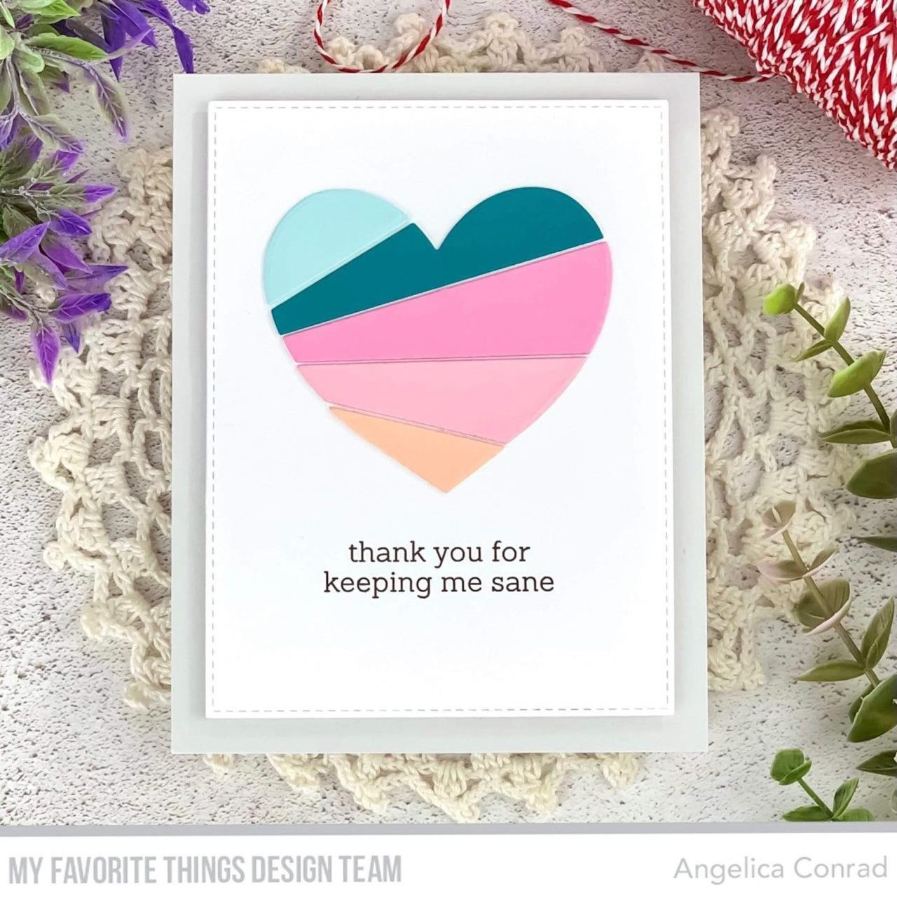 My Galentine, My Favorite Things Clear Stamps -