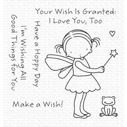 Pure Innocence - Wish Granted, My Favorite Things Clear Stamps -