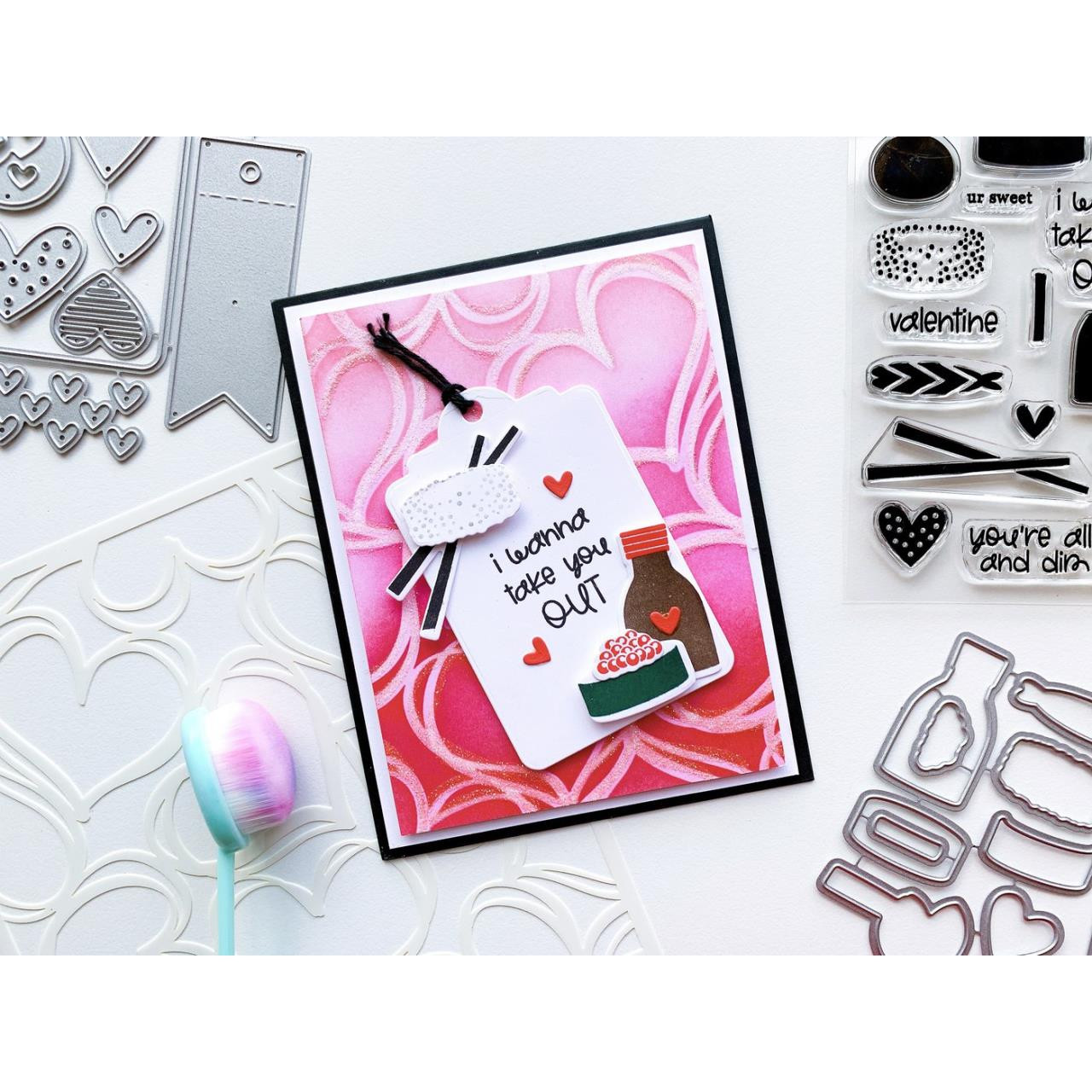 Hey There Dumpling, Catherine Pooler Clear Stamps -