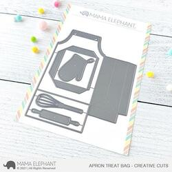 Apron Treat Bag, Mama Elephant Creative Cuts -