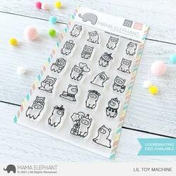 Little Llama Agenda, Mama Elephant Clear Stamps -