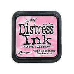 Kitsch Flamingo, Ranger Distress Ink Pad -