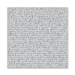 Script Bold Prints, Hero Arts Cling Stamps -