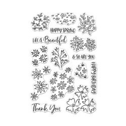 Life is Beautiful, Hero Arts Clear Stamps -