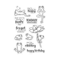 Hoppy Day, Hero Arts Clear Stamps -