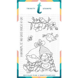 Best Place to Be, Trinity Stamps Clear Stamps -