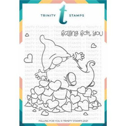 Falling for You, Trinity Stamps Clear Stamps -