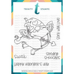 Sending Smooches, Trinity Stamps Clear Stamps -