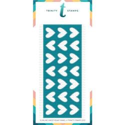 Slimline Sweetheart Panel, Trinity Stamps Dies -