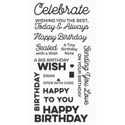 Big Birthday Wishes, My Favorite Things Clear Stamps -