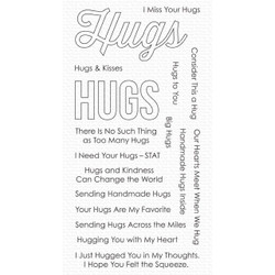 Lots of Hugs, My Favorite Things Clear Stamps -