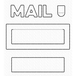 Mail Delivery, My Favorite Things Die-Namics -