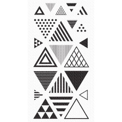 Trendy Triangles, My Favorite Things Clear Stamps -