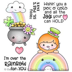 Over the Rainbow, Darcie's Clear Stamps -