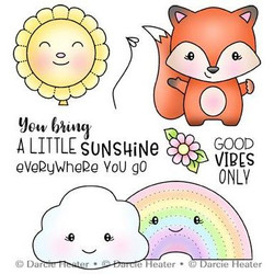 Little Sunshine, Darcie's Clear Stamps -