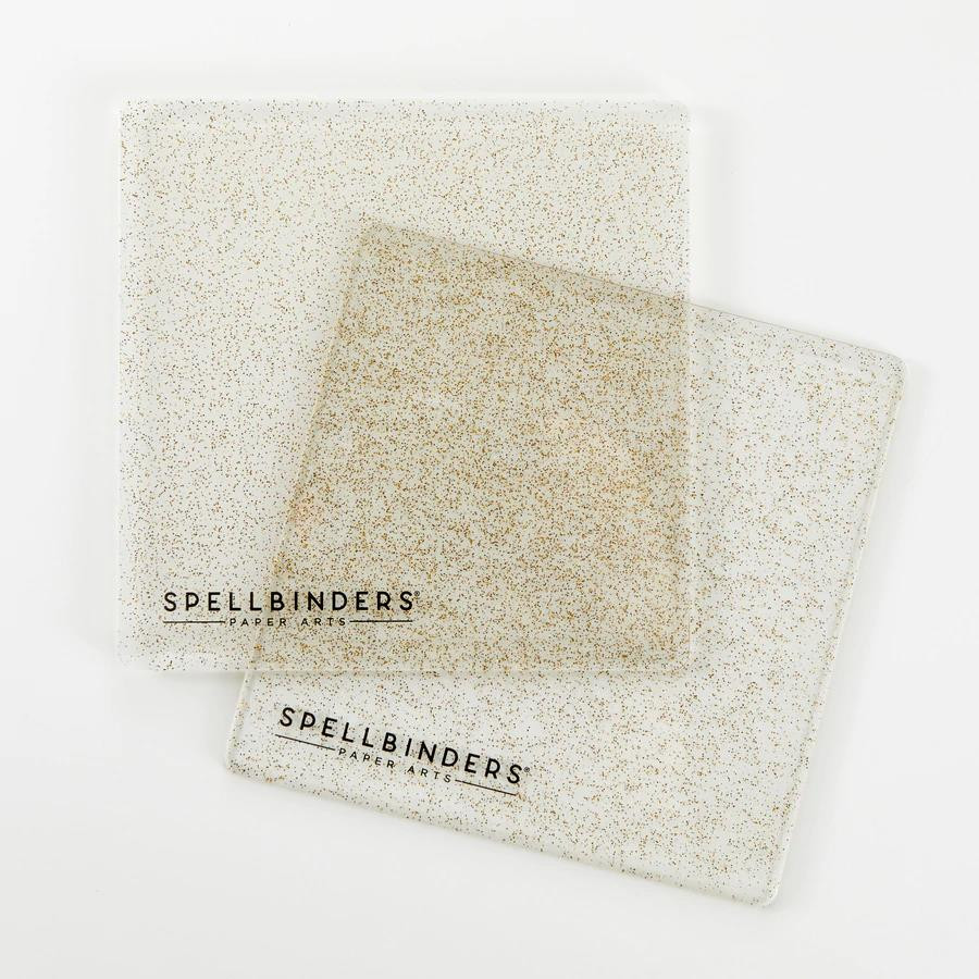 Glitter 6 X 6 Cutting Plates, Spellbinders Accessories -