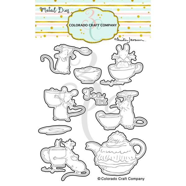 Tea Time Fun by Anita Jeram, Colorado Craft Company Dies -