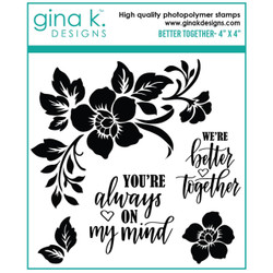Better Together, Gina K Designs Clear Stamps -