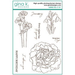 I Admire You, Gina K Designs Clear Stamps -