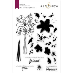 Our Friendship Blooms, Altenew Clear Stamps -