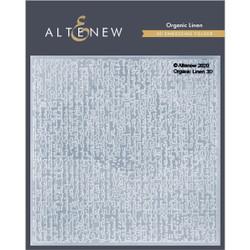 Organic Linen 3D, Altenew Embossing Folder -