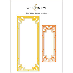 Slim Deco Cover, Altenew Dies -