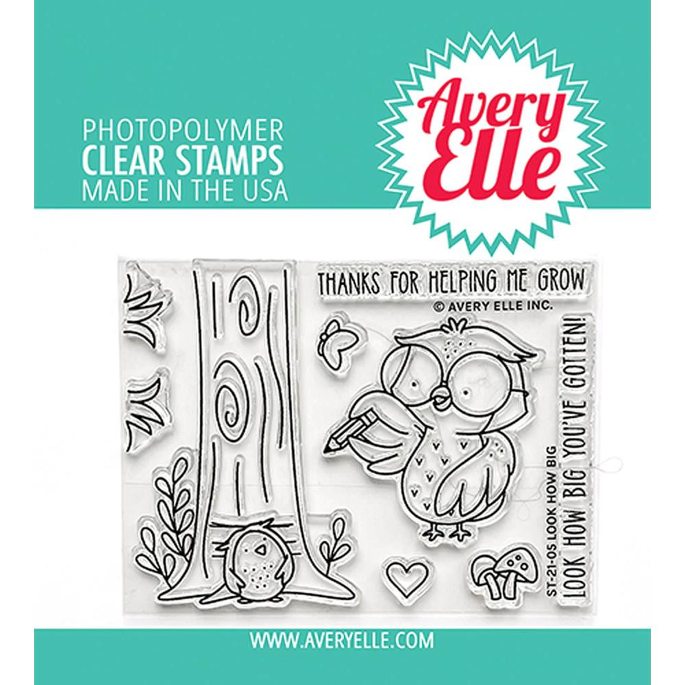 Look How Big, Avery Elle Clear Stamps -