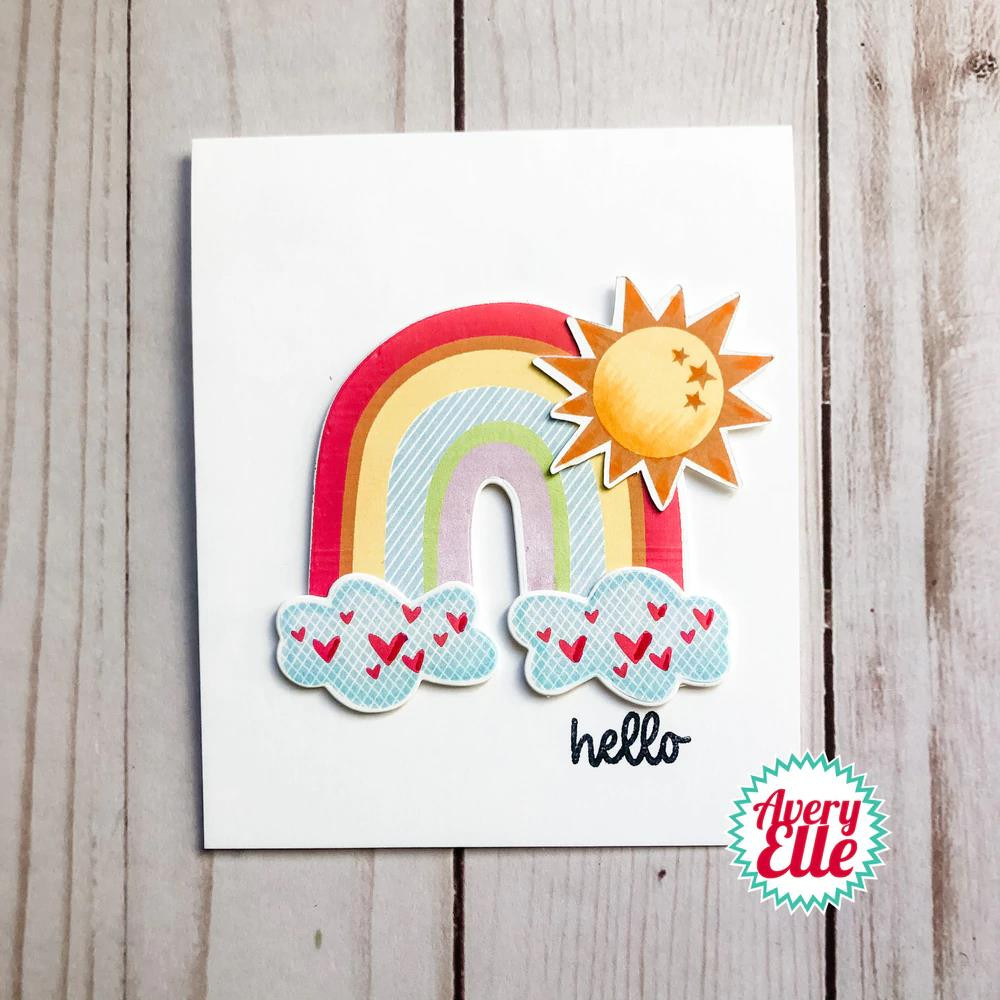Sunshine, Avery Elle Clear Stamps -