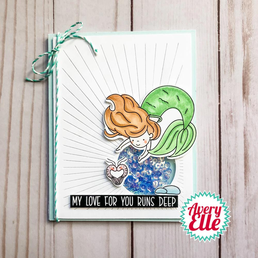 Underwater Friends, Avery Elle Clear Stamps -