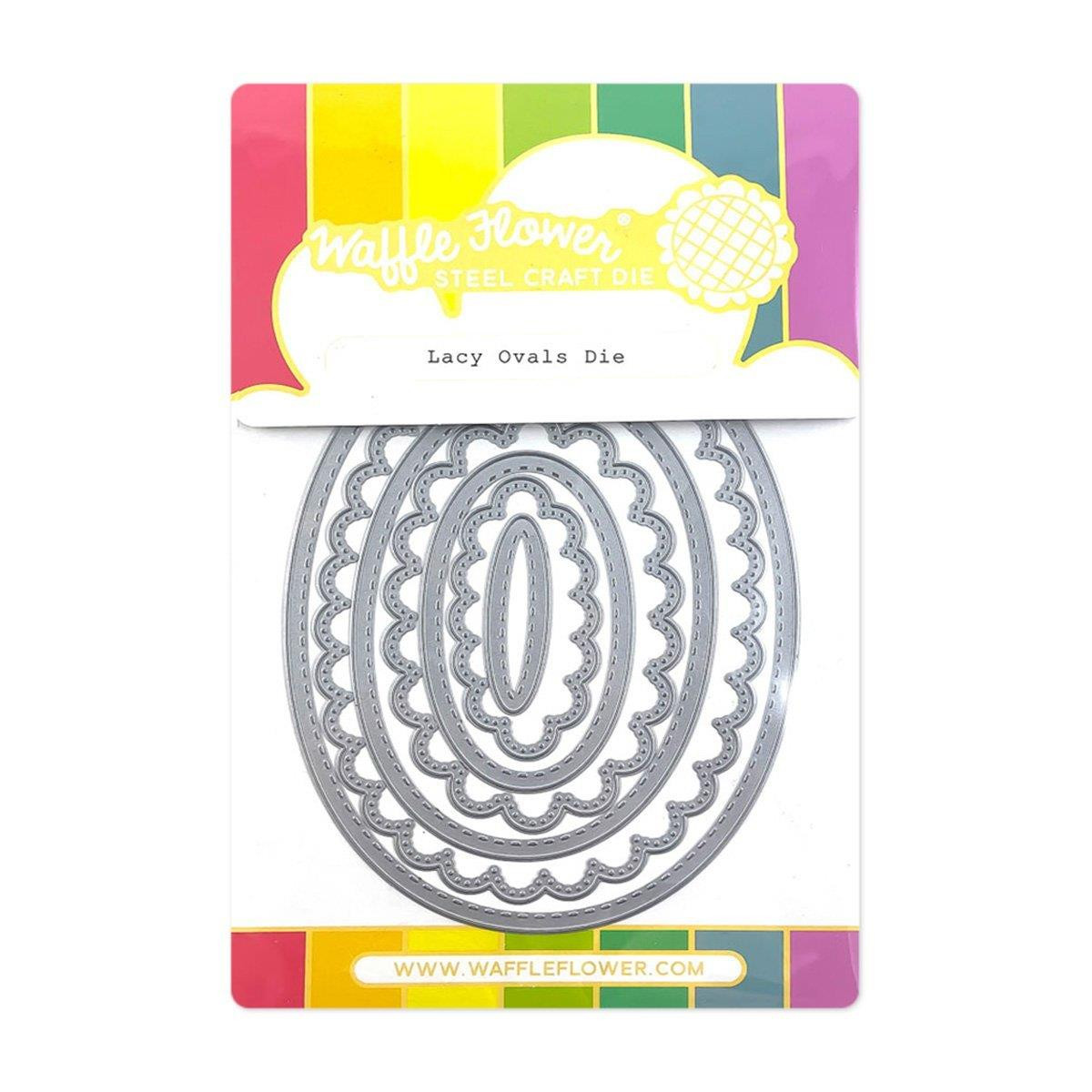 Lacy Ovals, Waffle Flower Dies -