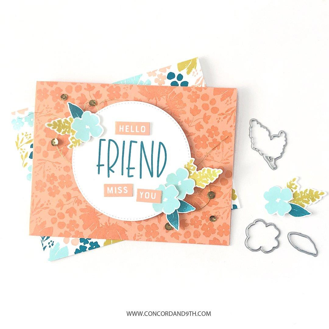 Painted Petals, Concord & 9th Paper Pack -