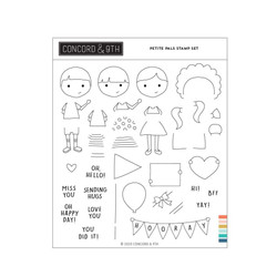 Petite Pals, Concord & 9th Clear Stamps -