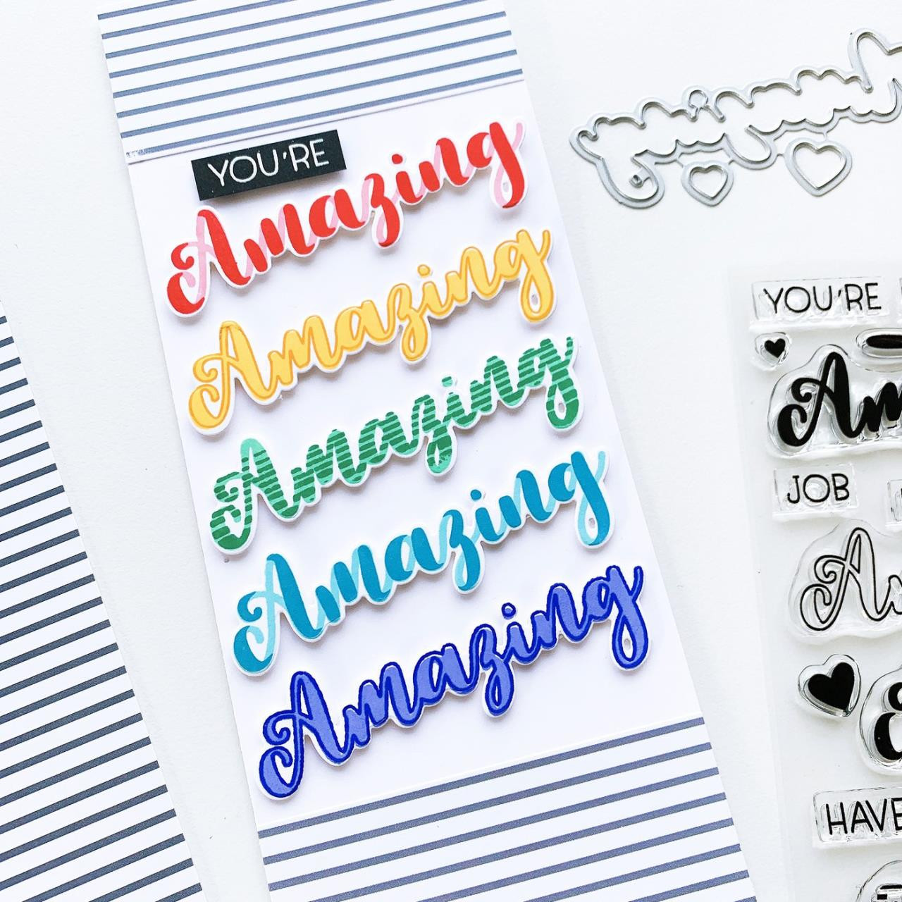 Hello Amazing, Catherine Pooler Clear Stamps -