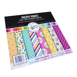 Preppy Prints, Catherine Pooler Patterned Paper -