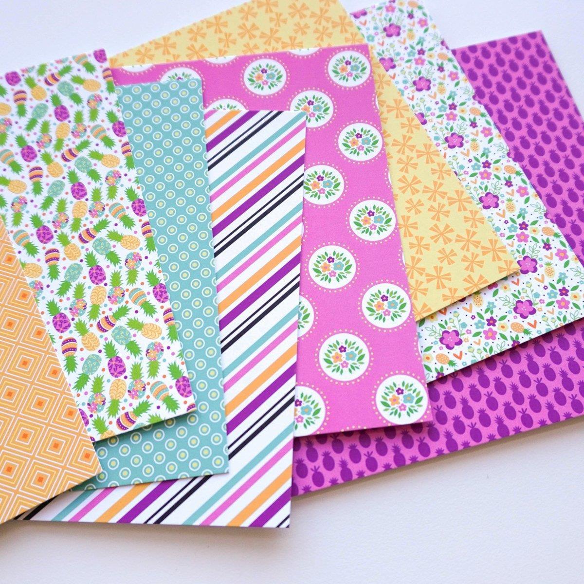 Preppy Prints, Catherine Pooler Patterned Paper -