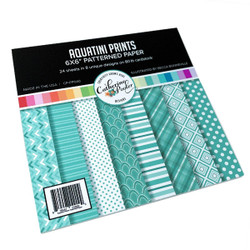 Aquatini Prints, Catherine Pooler Patterned Paper -