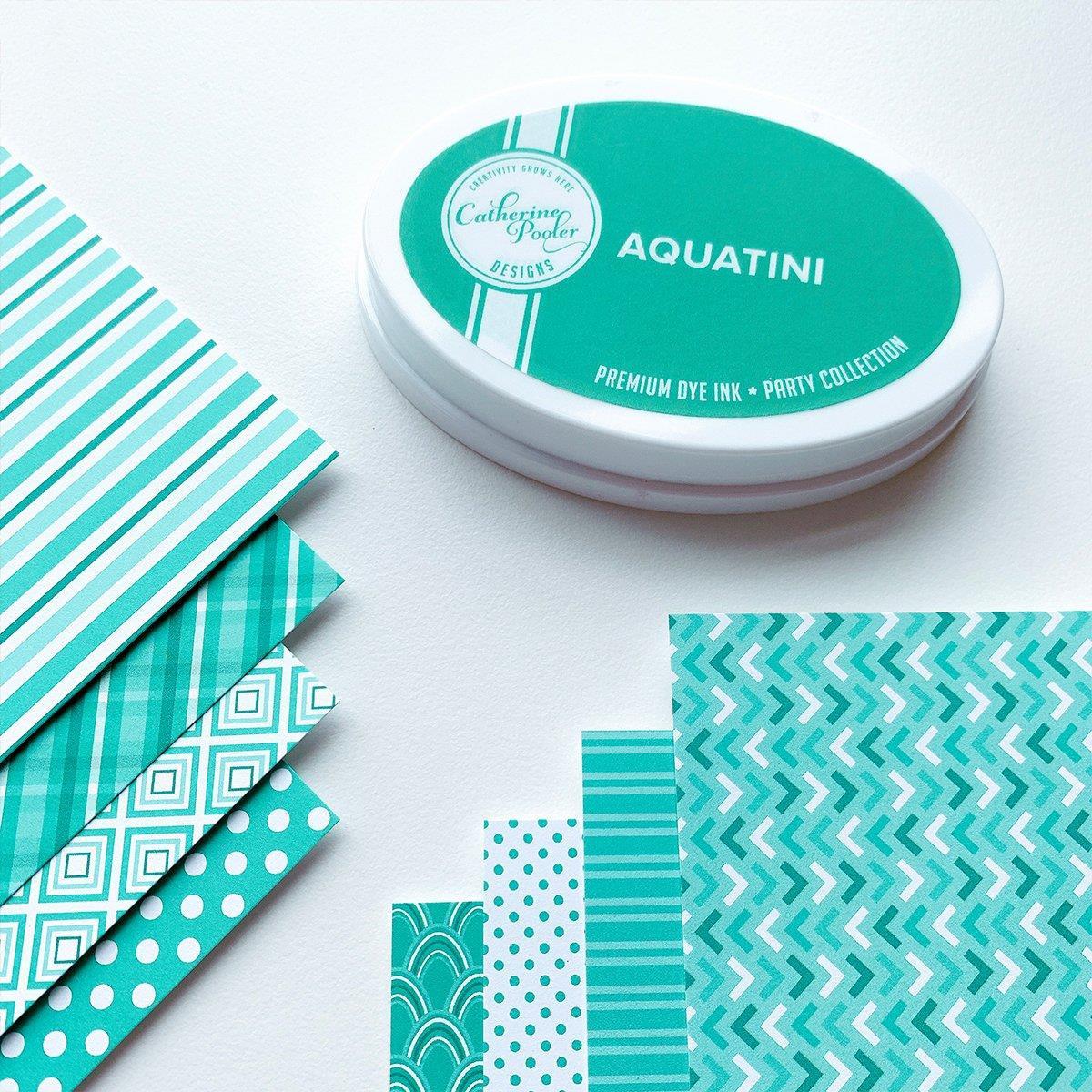 Aquatini Prints, Catherine Pooler Patterned Paper -
