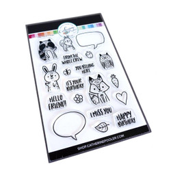 Critter Crew, Catherine Pooler Clear Stamps -