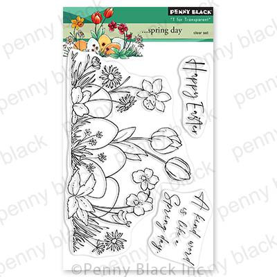 ...Spring Day, Penny Black Clear Stamps -