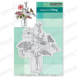 Sweet Centerpiece, Penny Black Cling Stamps -
