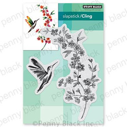Flying Colors, Penny Black Cling Stamps -