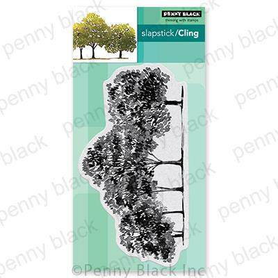 Arbors, Penny Black Cling Stamps -