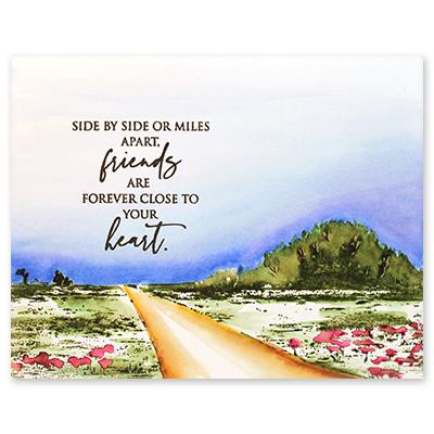 Pathway, Penny Black Cling Stamps -