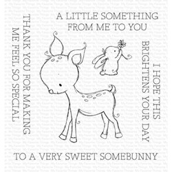 A Very Sweet Somebunny by Rachelle Anne Miller, My Favorite Things Clear Stamps -