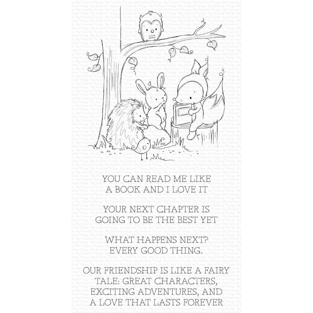 Fairy-Tale Friendship by Rachelle Anne Miller, My Favorite Things Clear Stamps -