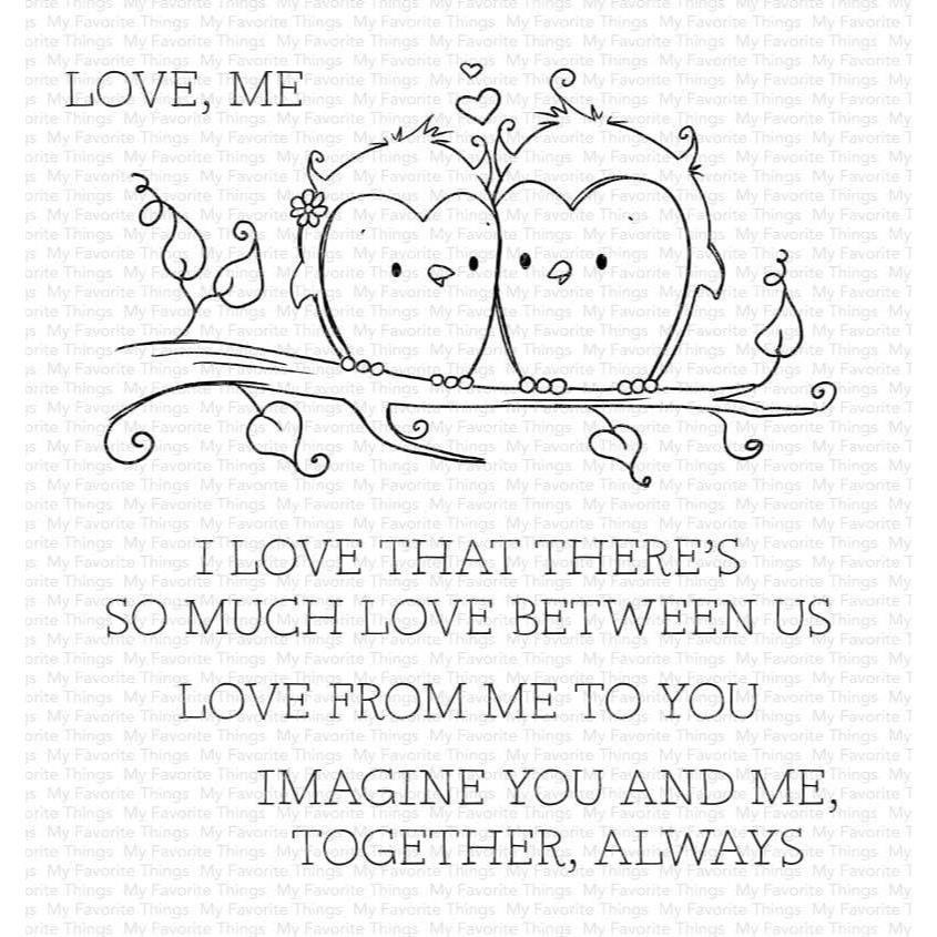 You and Me Together by Rachelle Anne Miller, My Favorite Things Clear Stamps -