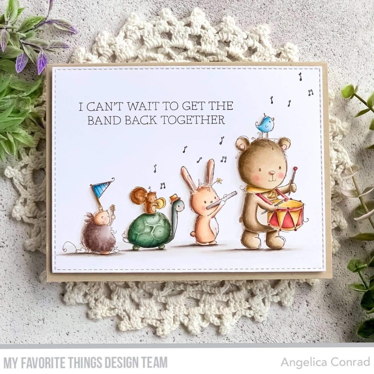 You're My Jam by Rachelle Anne Miller, My Favorite Things Clear Stamps -